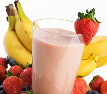 Fresh Fruit Protein Smoothie