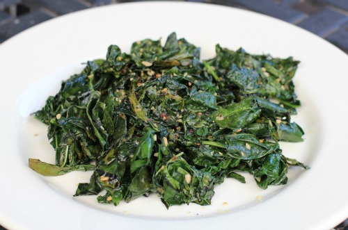 Quick Sautéed Kale with Garlic