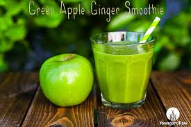 Green Apple Ginger Smoothie
