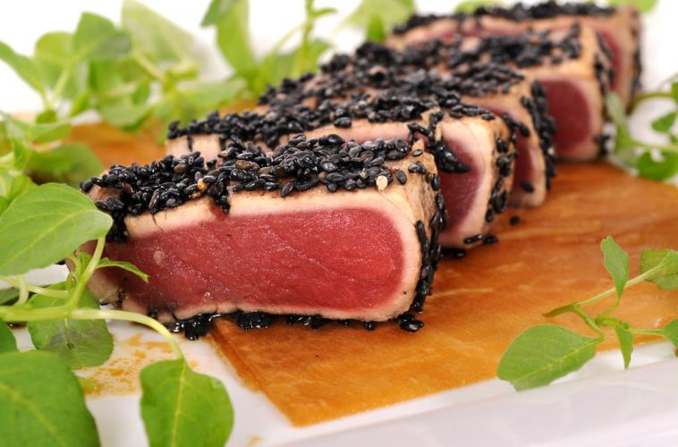 Sesame-Spiced Tuna Steak